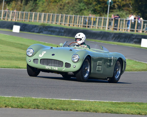 Jonathan Turner, HWM Jaguar, Freddie March Memorial Trophy, sports cars, 1952 to 1955, Goodwood Revival 2019, September 2019, automobiles, cars, circuit racing, Classic, competition, England, entertainment, event, Goodwood, heritage