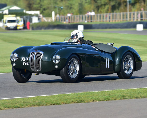 Freddie March Memorial Trophy, sports cars, 1952 to 1955, Goodwood Revival 2019, September 2019, automobiles, cars, circuit racing, Classic, competition, England, entertainment, event, Goodwood, heritage, historic, Duke of Richmond