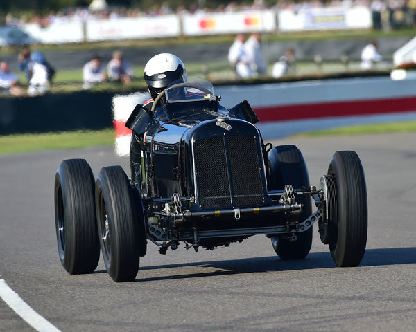 Paddins Dowling, ERA B-Type R10B, Goodwood Trophy, Grand Prix cars, Voiturette, 1930 to 1951, Goodwood Revival 2019, September 2019, automobiles, cars, circuit racing, Classic, competition, England, entertainment, event, Goodwood
