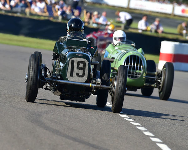 Andrew Hall, Frazer Nash Shelsey Single Seater, Goodwood Trophy, Grand Prix cars, Voiturette, 1930 to 1951, Goodwood Revival 2019, September 2019, automobiles, cars, circuit racing, Classic, competition, England, entertainment