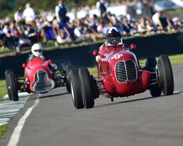 Ewen Sergison, Maserati 6CM, Goodwood Trophy, Grand Prix cars, Voiturette, 1930 to 1951, Goodwood Revival 2019, September 2019, automobiles, cars, circuit racing, Classic, competition, England, entertainment, event, Goodwood, heritage