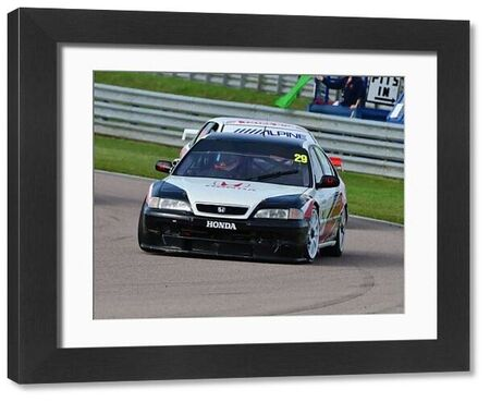 Paul Rivett, Honda Accord, HSCC, Super Touring Car Challenge, BTCC Rockingham Sept 2015, Autosport, British Touring Car Championship, BTCC, BTCC Rockingham Sept 2015, cars, England, Historic Sports Car Club, HSCC, motor sport, Northamptonshire
