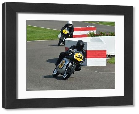 Rodney O'Connor, Kevin Schwantz, Manx Norton 500, Barry Sheene Memorial Trophy, classic bikes, Goodwood, Goodwood Revival, Goodwood Revival 2015, historic bikes, historic cars, Historic Racing, Lord March, nostalgia, revival, West Sussex, motor bike racing