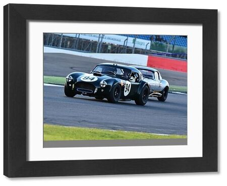 Michael Gans, Andy Wolfe, AC Cobra, International Trophy for Classic GT Cars, Pre'66, GT cars, Silverstone Classic 2016, Chris McEvoy, cjm-photography, Classic Racing Cars, historic racing cars, HSCC, motor racing, motorsport, Northamptonshire