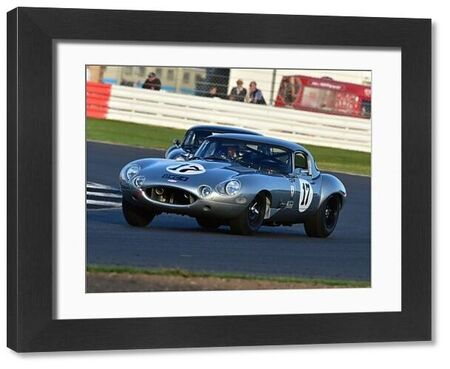 Frederic Wakeman, Patrick Blakeney-Edwards, Jaguar E-Type, International Trophy for Classic GT Cars, Pre'66, GT cars, Silverstone Classic 2016, Chris McEvoy, cjm-photography, Classic Racing Cars, historic racing cars, HSCC, motor racing, motorsport