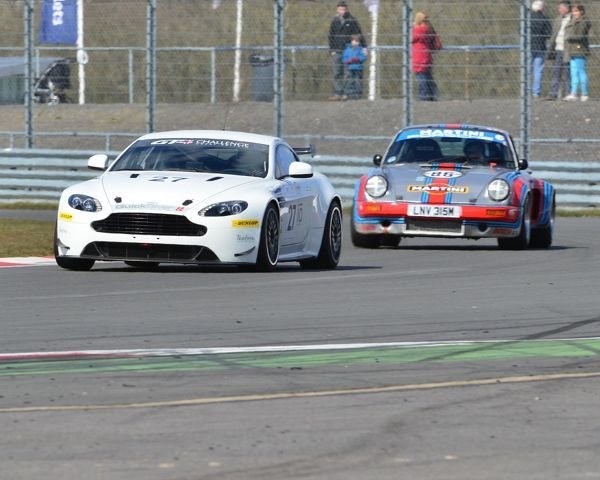 Kevin Norville, Aston Martin GT4, Intermarque Championship, AMOC, HRDC, Silverstone