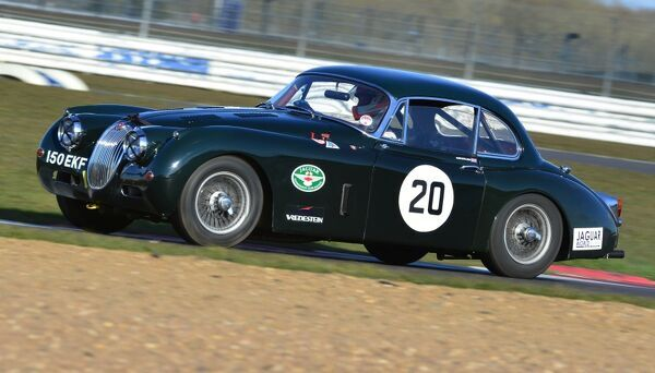 Andrew Keith Lucas, Jaguar XK150, 150 EKF, 50s Sports Cars, XK Challenge, Aston Martin Owners Club Racing, HRDC, AMOC Racing, Silverstone