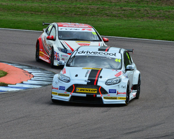 James Cole, Ford Focus, BTCC Rockingham Sept 2015, Autosport, British Touring Car Championship, BTCC, BTCC Rockingham Sept 2015, cars, England, motor sport, Northamptonshire, racing circuit racing, Rockingham, Rockingham Raceway, September 2015