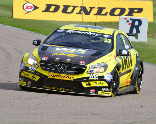 Adam Morgan, Mercedes Benz A-Class, BTCC Rockingham Sept 2015, Autosport, British Touring Car Championship, BTCC, BTCC Rockingham Sept 2015, cars, England, motor sport, Northamptonshire, racing circuit racing, Rockingham, Rockingham Raceway