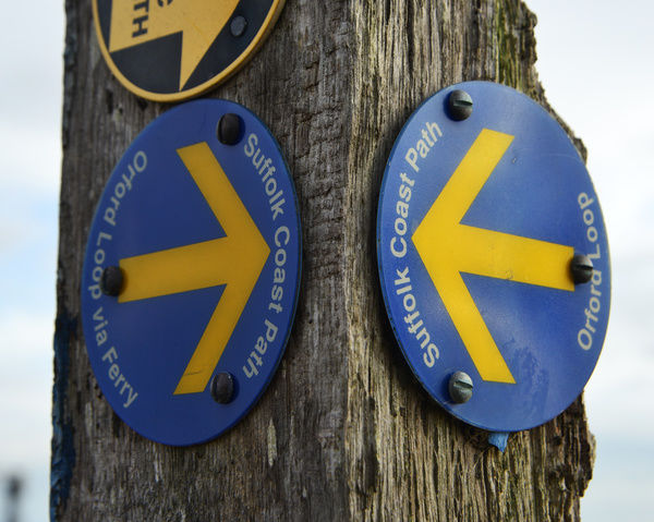 Which way, Orford loop, Suffolk coastal path, A weekend in Suffolk, October 2017. England, Suffolk, Great Britain, outdoors, nature, countryside, autumn, autumn, countryside, directions, East Anglia, England, Great Britain, nature, Orford loop