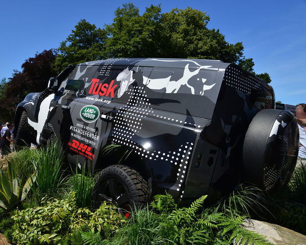 The new Land Rover Defender, Goodwood Festival of Speed, 2019, Festival of Speed, Speed Kings, Motorsport's Record Breakers, July 2019, Motorsports, automobiles, cars, entertainment, Festival of Speed, FoS, Goodwood, heritage