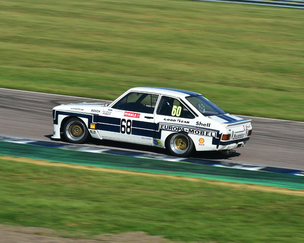 Mark Wright, Ford Escort, HSCC, Super Touring Car Challenge, BTCC Rockingham Sept 2015, Autosport, British Touring Car Championship, BTCC, BTCC Rockingham Sept 2015, cars, England, Historic Sports Car Club, HSCC, motor sport, Northamptonshire