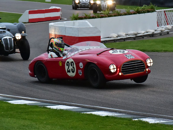 Simon Arscott, Bradley Ellis, Tojeiro-Bristol, LOY 500, Freddie March Memorial Trophy, Goodwood Revival 2015, 2015, classic cars, Goodwood, Goodwood Revival, Goodwood Revival 2015, historic cars, Historic Racing, Lord March, nostalgia, revival