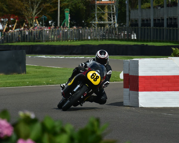 Michael Russell, Michael Rutter, Manx Norton 500, Barry Sheene Memorial Trophy, Goodwood Revival 2015, 2015, Barry Sheene Memorial Trophy, classic cars, Goodwood, Goodwood Revival, Goodwood Revival 2015, historic cars, Historic Racing, Lord March
