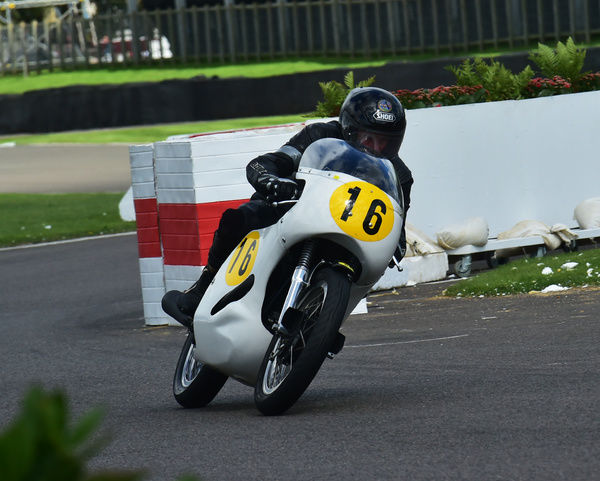 Roger Munsey, Norton Domiracer, Barry Sheene Memorial Trophy, Goodwood Revival 2015, 2015, Barry Sheene Memorial Trophy, classic cars, Goodwood, Goodwood Revival, Goodwood Revival 2015, historic cars, Historic Racing, Lord March, nostalgia, revival