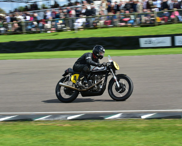 Patrick Walker, Charlie Williams, Manx Norton 500, Barry Sheene Memorial Trophy, Goodwood Revival 2015, 2015, Barry Sheene Memorial Trophy, classic cars, Goodwood, Goodwood Revival, Goodwood Revival 2015, historic cars, Historic Racing, Lord March