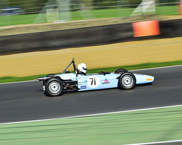 Jonathan Baines, Merlyn Mk20, HSCC Brands Hatch Indy Sept 2015, Brands Hatch, Chris McEvoy, circuit racing, CJM Photography, classic cars, England, HFF, historic cars, Historic Formula Ford, Historic Racing, Historic Racing racing cars, Historic