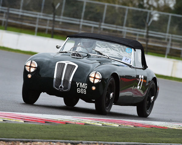 Martin Hunt, Frazer Nash Targa Florio, YNG 669, Pomeroy trophy, VSCC, Silverstone, 2016, cars, Chris McEvoy, cjm-photography, competition, February, Fun, historic cars, iconic, motor sport, motorsport, nostalgia, outdoors, pre-war, retro, saloon cars