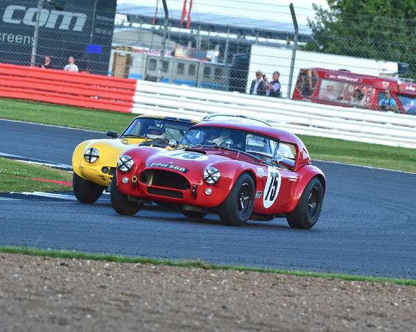 Robert Bremner, Anthony Reid, AC Cobra, International Trophy for Classic GT Cars, Pre'66, GT cars, Silverstone Classic 2016, Chris McEvoy, cjm-photography, Classic Racing Cars, historic racing cars, HSCC, motor racing, motorsport, Northamptonshire