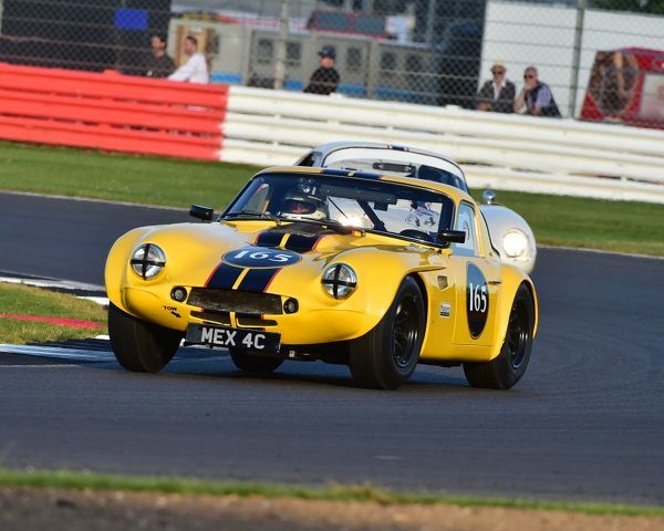 Peter Thompson, Mark Hales, TVR Griffith, International Trophy for Classic GT Cars, Pre'66, GT cars, Silverstone Classic 2016, Chris McEvoy, cjm-photography, Classic Racing Cars, historic racing cars, HSCC, motor racing, motorsport, Northamptonshire