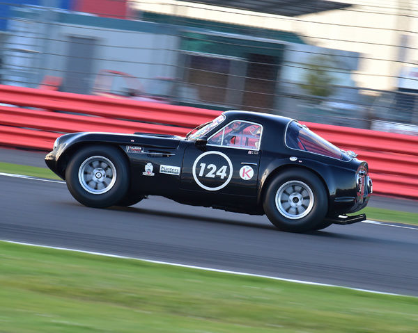 Peter Dod, Nathan Dod, TVR Griffith, International Trophy for Classic GT Cars, Pre'66, GT cars, Silverstone Classic 2016, Chris McEvoy, cjm-photography, Classic Racing Cars, historic racing cars, HSCC, motor racing, motorsport, Northamptonshire