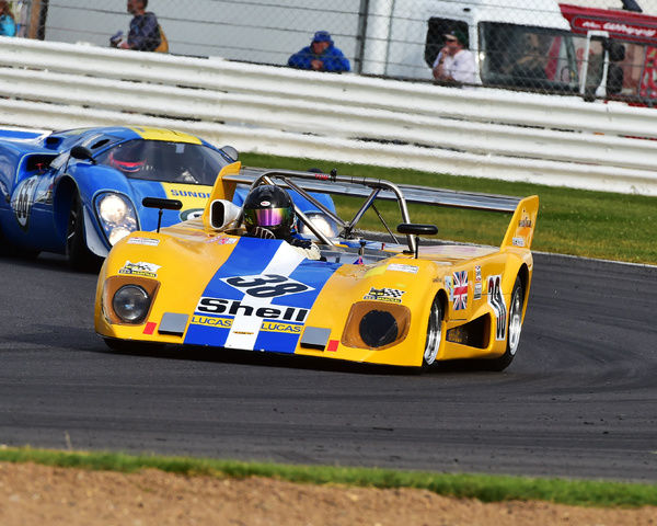 James Claridge, Lola T292, Can-Am 50 Interserie Challenge, Silverstone Classic 2016, Chris McEvoy, cjm-photography, Classic Racing Cars, historic racing cars, HSCC, motor racing, motorsport, Northamptonshire, nostalgia, retro, rocking and racing