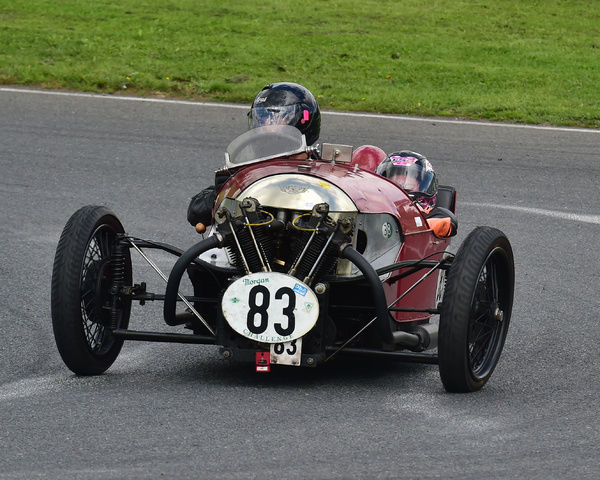 Andrew Rew, Aero JAP JTOR, Morgan Three Wheeler Club Challenge Trophy Race, VSCC, Formula Vintage, Round 4, Mallory Park, 12th August 2017, Chris McEvoy, circuit racing, CJM Photography, classic cars, historic cars, historic motorsport, Historic Racing