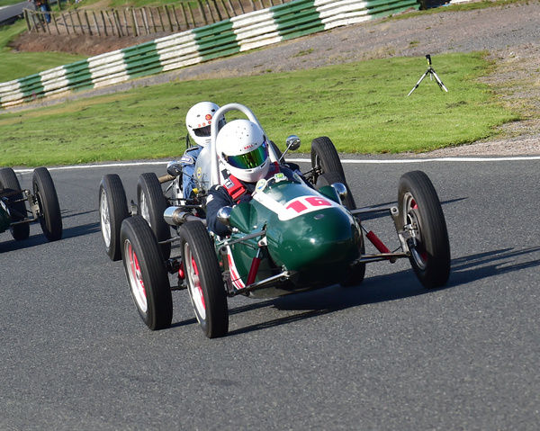 Stuart Wright, Cooper Mk11, Formula 3, 500cc cars, F3, Vintage Racing Cars, VSCC, Formula Vintage, Round 4, Mallory Park, 12th August 2017, Chris McEvoy, circuit racing, CJM Photography, classic cars, historic cars, historic motorsport, Historic Racing