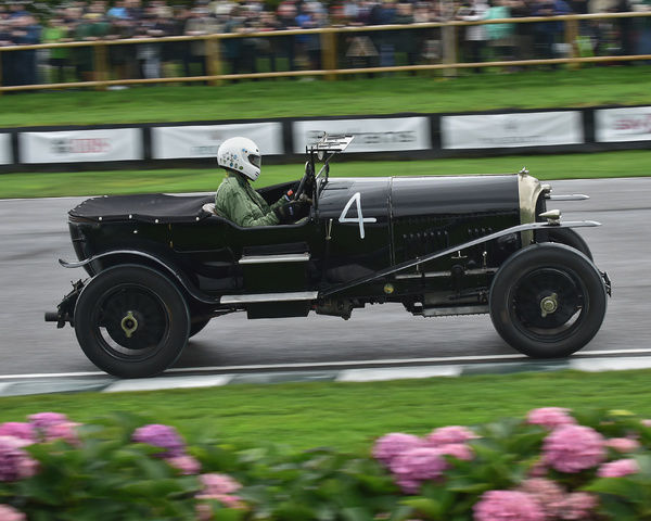 Ben Collings, Bentley Speed Model, Brooklands Trophy, Sports cars, pre-1939, Goodwood Revival 2017, September 2017, automobiles, cars, circuit racing, Classic, competition, England, entertainment, event, Goodwood, Goodwood Revival 2017, heritage