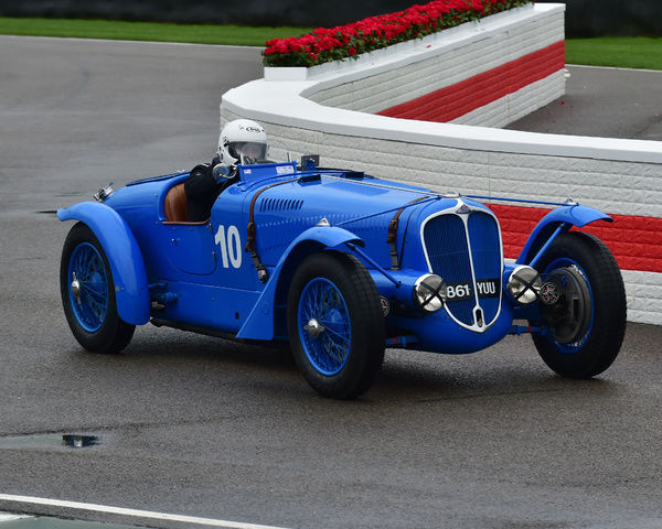 Ross Keeling, Delahaye135, Brooklands Trophy, Sports cars, pre-1939, Goodwood Revival 2017, September 2017, automobiles, cars, circuit racing, Classic, competition, England, entertainment, event, Goodwood, Goodwood Revival 2017, heritage, historic