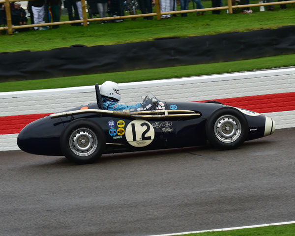 Helmut Gassmann, Connaught B-type, Richmond Trophy, Front engined Grand Prix cars, Formula Libre, Goodwood Revival 2017, September 2017, automobiles, cars, circuit racing, Classic, competition, England, entertainment, event, Goodwood, Goodwood Revival 2017