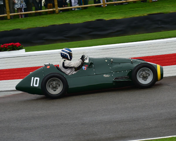 Charlie Martin, Connaught A type, Richmond Trophy, Front engined Grand Prix cars, Formula Libre, Goodwood Revival 2017, September 2017, automobiles, cars, circuit racing, Classic, competition, England, entertainment, event, Goodwood, Goodwood Revival 2017