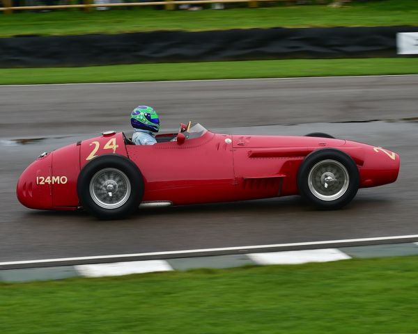 Frederick Harper, Kurtis Kraft Offenhauser, Richmond Trophy, Front engined Grand Prix cars, Formula Libre, Goodwood Revival 2017, September 2017, automobiles, cars, circuit racing, Classic, competition, England, entertainment, event, Goodwood