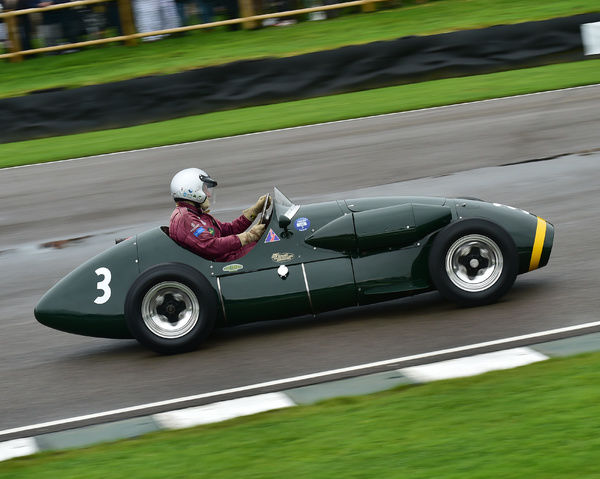 Michael Milligan, Connaught A type, Richmond Trophy, Front engined Grand Prix cars, Formula Libre, Goodwood Revival 2017, September 2017, automobiles, cars, circuit racing, Classic, competition, England, entertainment, event, Goodwood, Goodwood Revival 2017