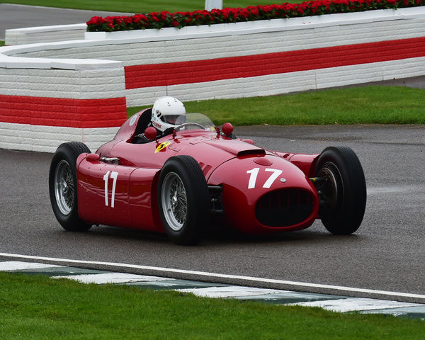 Steve Tillack, Lancia D50, Richmond Trophy, Front engined Grand Prix cars, Formula Libre, Goodwood Revival 2017, September 2017, automobiles, cars, circuit racing, Classic, competition, England, entertainment, event, Goodwood, Goodwood Revival 2017