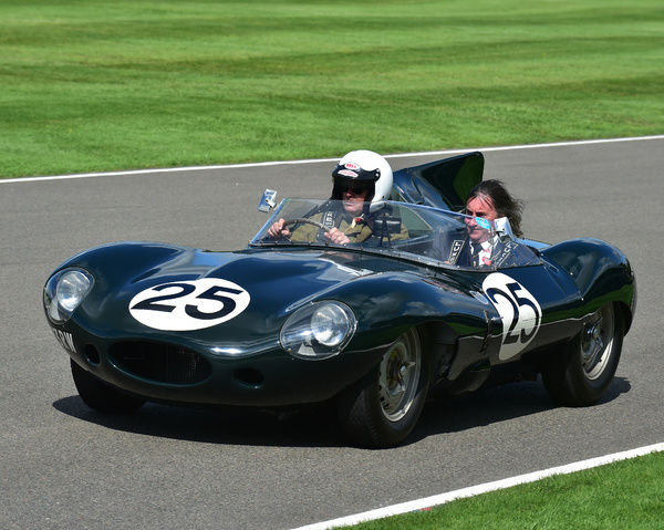 Jaguar D type, Ecurie Ecosse, Goodwood Revival 2017, September 2017, automobiles, cars, circuit racing, Classic, competition, England, entertainment, event, Goodwood, Goodwood Revival 2017, heritage, historic, Lord March, motor sport, motorbikes