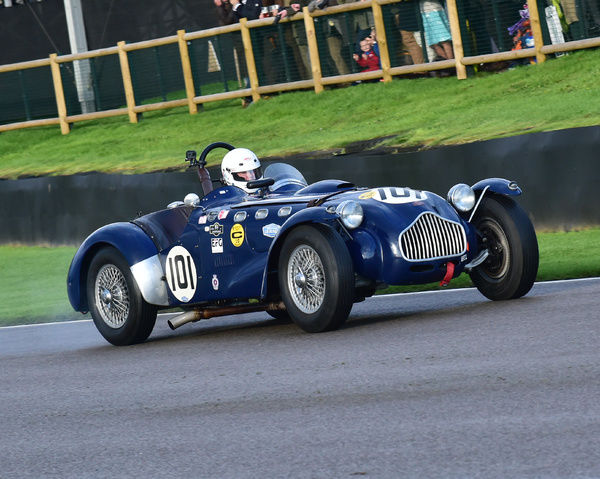 Till Bechtolsheimer, Allard J2, Freddie March Memorial Trophy, Sports Racing Cars, Goodwood Revival 2017, September 2017, automobiles, cars, circuit racing, Classic, competition, England, entertainment, event, Goodwood, Goodwood Revival 2017