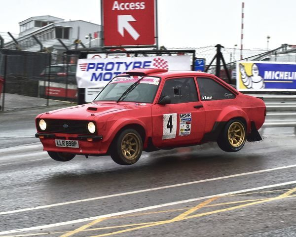 Mark Kelly, Andy Baker, Ford Escort Mk2, winners, MGJ Rally Stages, Chelmsford Motor Club, Brands Hatch, Saturday, 20th January 2018, MSV, Circuit Rally Championship, MSVR, Rally, racing, rallying, off-road, MSV, Kent, England, motor sport, racing