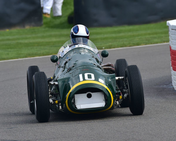 Charlie Martin, Connaught A type, Parnell Cup, Grand Prixcars, Voiturette cars, 1935 to 1953, 77th Members Meeting, Goodwood, West Sussex, England, April 2019, Autosport, cars, circuit racing, classic cars, competition, England