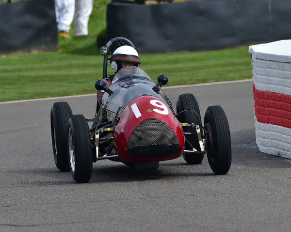 Paul Grant, Cooper Bristol Mk2 T23, Parnell Cup, Grand Prixcars, Voiturette cars, 1935 to 1953, 77th Members Meeting, Goodwood, West Sussex, England, April 2019, Autosport, cars, circuit racing, classic cars, competition, England, fast, Fun