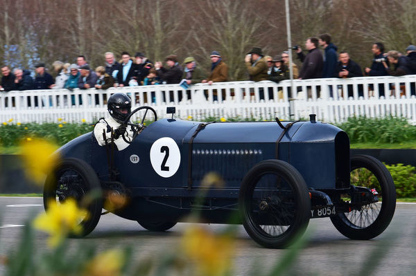Phillipp Dressel, Benz 200, Hornsted,s F Edge Trophy, Edwardian Cars, 77th Members Meeting, Goodwood, West Sussex, England, April 2019, Autosport, cars, circuit racing, classic cars, competition, England, fast, Fun, Goodwood, historic cars, leisure activity