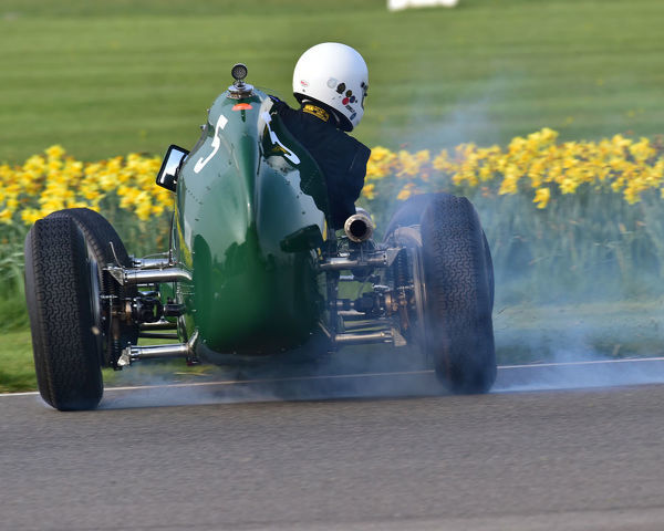 Ian Baxter, Alta 61 IS, Parnell Cup, Grand Prixcars, Voiturette cars, 1935 to 1953, 77th Members Meeting, Goodwood, West Sussex, England, April 2019, Autosport, cars, circuit racing, classic cars, competition, England, fast, Fun