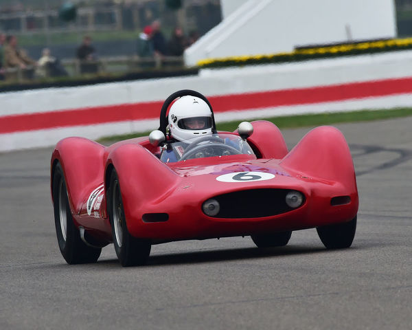 Gregory Heacock, Penske Zerex Special, Gurney Cup, Sports Prototypes, 1960 to 1966, 77th Members Meeting, Goodwood, West Sussex, England, April 2019, Autosport, cars, circuit racing, classic cars, competition, England, fast, Fun