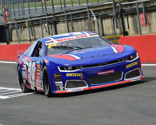 Alex Sedgwick, Chevrolet Camaro, Elite 1, NASCAR Euro series, American Speedfest VII, Brands Hatch, June 2019, automobiles, Autosport, cars, circuit racing, England, entertainment, European, Kent, motor racing, motor sport, motorracing