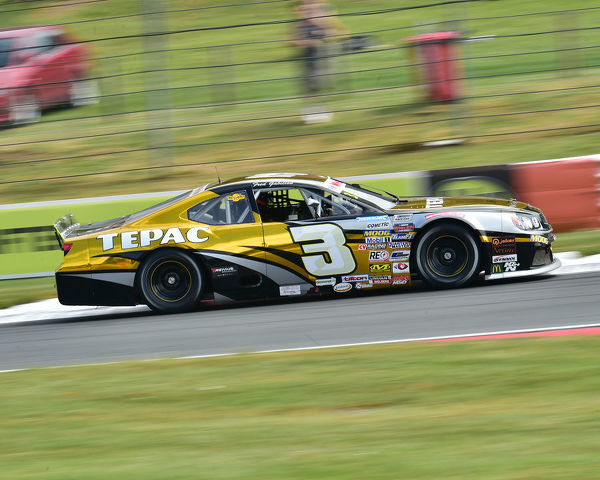 Frederic Gabillon, Chevrolet SS, Elite 1, NASCAR Euro series, American Speedfest VII, Brands Hatch, June 2019, automobiles, Autosport, cars, circuit racing, England, entertainment, European, Kent, motor racing, motor sport, motorracing, racing