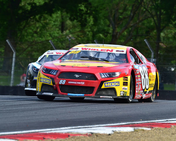 Eric Clement, Ford Mustang, Elite 2, NASCAR Euro series, American Speedfest VII, Brands Hatch, June 2019, automobiles, Autosport, cars, circuit racing, England, entertainment, European, Kent, motor racing, motor sport, motorracing