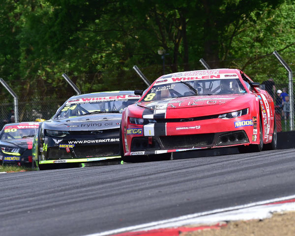 Nicholas Risitano, Chevrolet Camaro, Elite 2, NASCAR Euro series, American Speedfest VII, Brands Hatch, June 2019, automobiles, Autosport, cars, circuit racing, England, entertainment, European, Kent, motor racing, motor sport