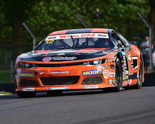 Naveh Taylor, Chevrolet Camaro, Elite 2, NASCAR Euro series, American Speedfest VII, Brands Hatch, June 2019, automobiles, Autosport, cars, circuit racing, England, entertainment, European, Kent, motor racing, motor sport, motorracing
