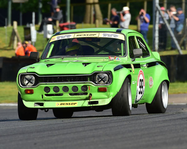 Michael Saunders, Ford Escort Mexico, Bernies V8s, Classic US Muscle Cars, American Speedfest VII, Brands Hatch, June 2019, automobiles, Autosport, cars, circuit racing, England, entertainment, Kent, motor racing, motor sport