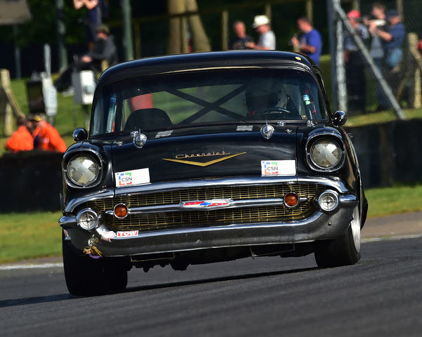 Mark Du Toit, Chevrolet Bel Air, Bernies V8s, Classic US Muscle Cars, American Speedfest VII, Brands Hatch, June 2019, automobiles, Autosport, cars, circuit racing, England, entertainment, Kent, motor racing, motor sport, motorracing, racing